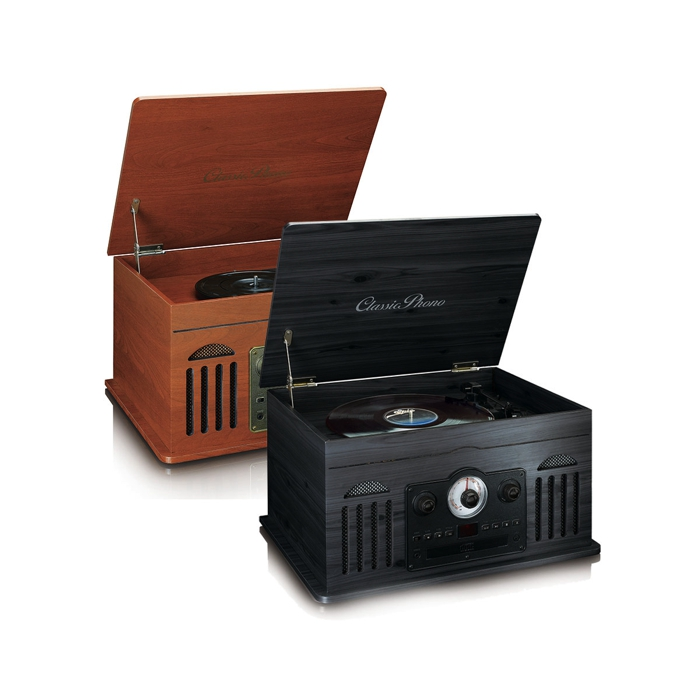 6-in-1 Muziekapparaat retrolook Lenco TCD-2600